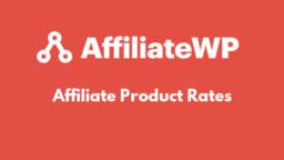 Affiliate Product Rates