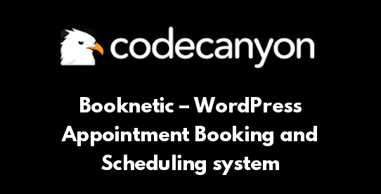 Booknetic – WordPress Appointment Booking and Scheduling system
