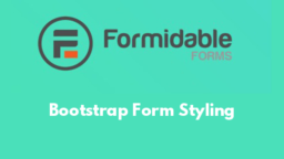 Bootstrap Form Styling