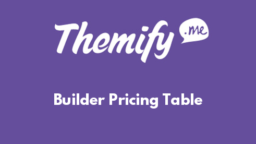 Builder Pricing Table