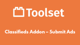 Classifieds Addon – Submit Ads