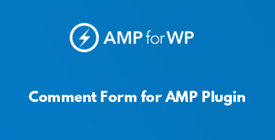 Comment Form for AMP Plugin