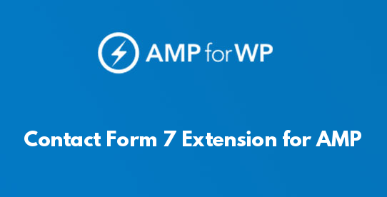 Contact Form 7 Extension for AMP