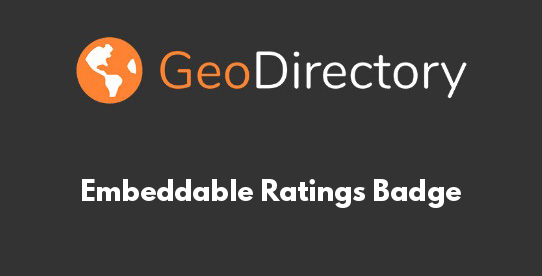 Embeddable Ratings Badge