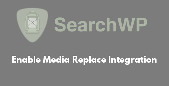 Enable Media Replace Integration