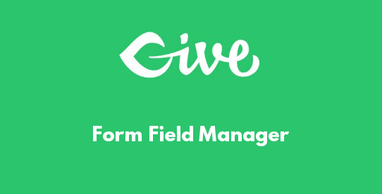 Form Field Manager