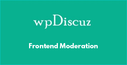 Frontend Moderation