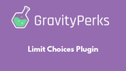 Limit Choices Plugin
