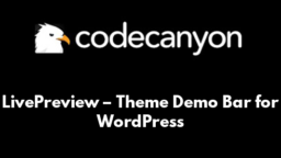 LivePreview – Theme Demo Bar for WordPress