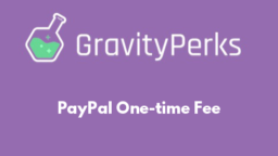 PayPal One-time Fee