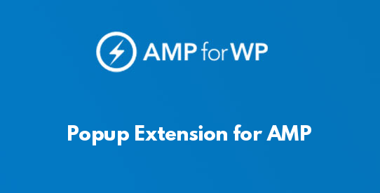 Popup Extension for AMP