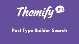 Post Type Builder Search