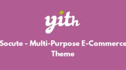 Socute - Multi-Purpose E-Commerce Theme