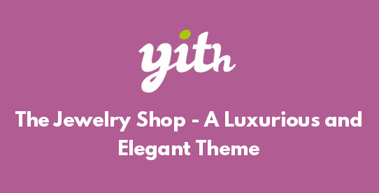 The Jewelry Shop - A Luxurious and Elegant Theme