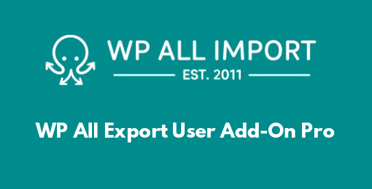 WP All Export User Add-On Pro