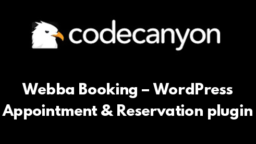 Webba Booking – WordPress Appointment & Reservation plugin
