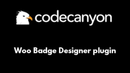 Woo Badge Designer plugin